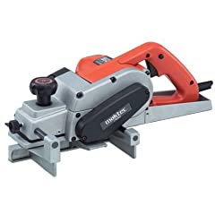 """FIELD-PROVEN, RELIABLE PERFORMANCE FROM HANDY AND LIGHTWEIGHT BODY. WIDE SWATH OF 82 MM (3-1/4""""), LONG REAR SHOE AND HANDY EDGE FENCE. PRECISION MACHINED LARGE ALUMINIUM BASE FOR PLANING ACCURACY. CONTINUOUS RATING INPUT : 750 WATT. NO LOAD SPEED : 1..."""