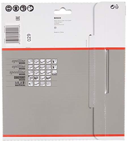 Bosch Pro Kreissägeblatt Multi Material zum Sägen in Multimaterial für Handkreissägen (Ør 190 mm) - 2