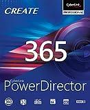 CyberLink PowerDirector 365 / 12 MOIS | 12 Mois | PC | Code d'activation PC - envoi par email