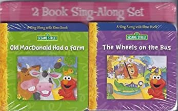 Old MacDonald Had a Farm and The Wheels on the Bus (2 Book Set) (Sesame Street Sing Along with Elmo Set)