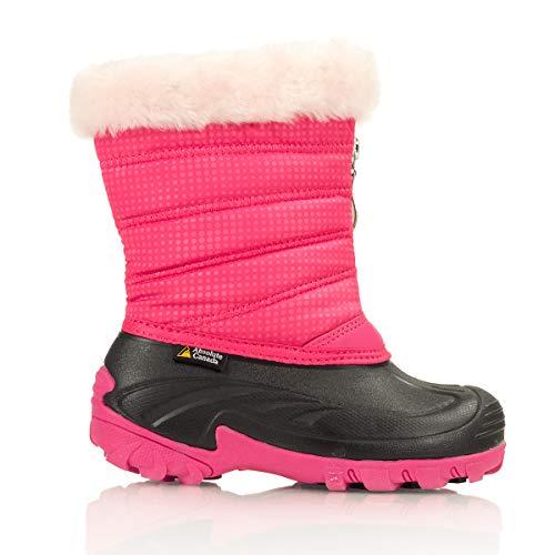 Absolute Canada Children's Furpuff Winter Boots Fuchsia 2