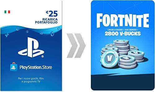 PSN Credito per Fortnite 2800 V-Bucks   Codice download per PS4 - Account italiano