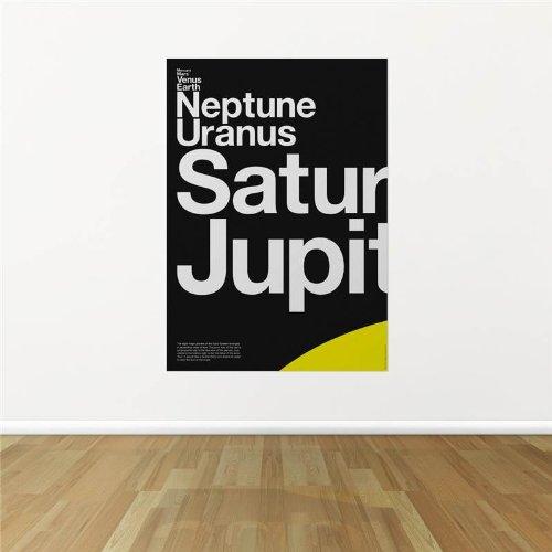 Solar Planets Fijne muurkunstdruk poster