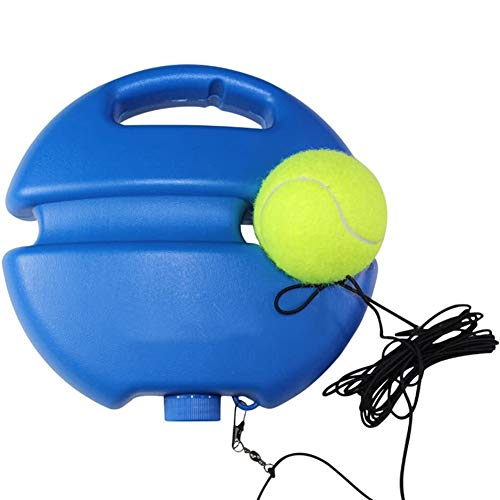 CRMY Tennis Training Equipment,Tennis Trainer Rebound Baseboard Tennis Training Tool Heavy Duty Self-Study Exercise Tennis Ball Rebound Ball with Tennis Trainer Suitable for Beginner
