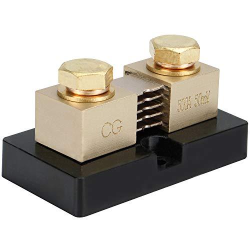 CG 500A 50mV Ampere Electrical Digital DC Current Shunt Resistor for amp Panel Ammeter Current Measurement Tester Gauge
