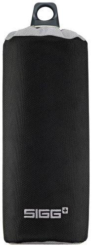 SIGG Accessories Pouches Sac pour gourde isotherme en néoprène Contenance 0,4 l 1,5 l Noir nylon 1,0 l