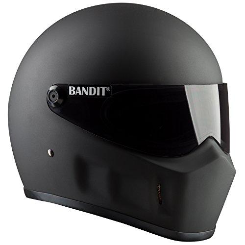 Bandit Super Street 2 Helm Schwarz Matt L (59/60)
