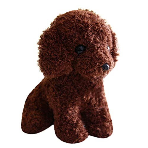 Stuffed Animal Puppy Teddy Dog Toy Plush,Realistic Teddy Dog Lucky,Lifelike Plush Stuffed Animals for Infants- Long-Lasting Toy, Ideal Gifts for Girls Boys - 10 Inch