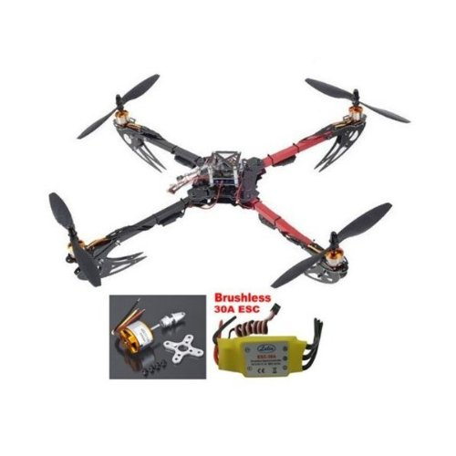 Hobbypower X525 Quadcopter Glass Friber Folding Kit with...