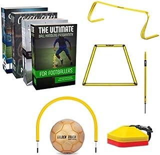WMO Cruz Coaching, Advanced Soccer Ball Mastery Programs & Training Kit (2 Online Training Programs, 15 Pieces of Training...