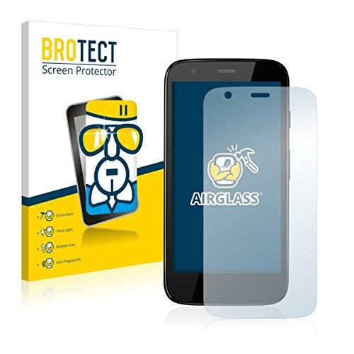 BROTECT AirGlass Premium Glasfolie für Motorola Moto G XT1039, XT1040, XT1045 (extrahart, ultradünn, hochtranzparent, Anti-Fingerprint, flexibel)