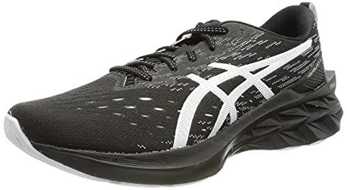 ASICS 1011b192-001_44, Zapatillas de Running Hombre, Black Pure Silver, EU