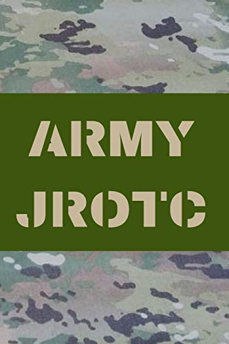 ARMY JROTC: BLANK LINED JOURNAL NOTEBOOK DIARY LOGBOOK PLANNER GIFT