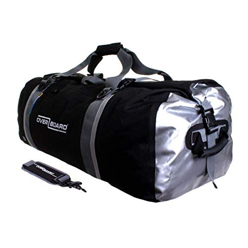 OverBoard - Borsone impermeabile, 130 litri, colore: nero