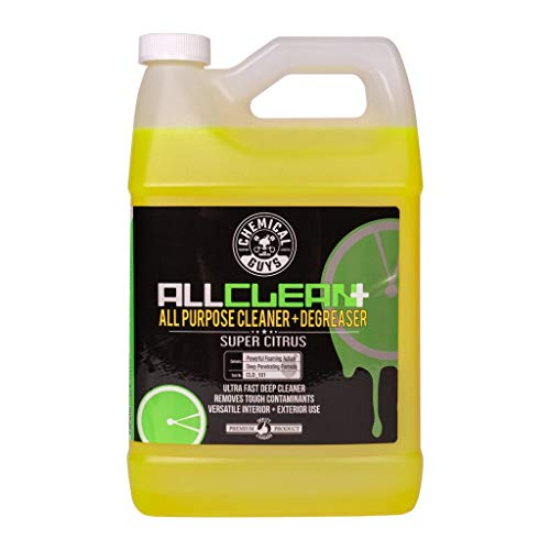 Chemical Guys CLD_101 All Clean+ Citrus-Based All Purpose Super Cleaner, 1 Gal , Green