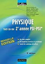 Physique tout-en-un - 2e anne - PSI, PSI* - 2me dition ...