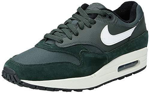 Nike Air Max 1, Chaussures d'Athlétisme Homme, Multicolore (Outdoor Green/Sail/Black 303), 40 EU