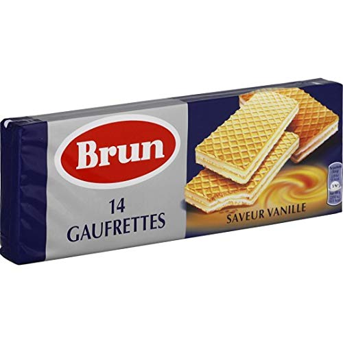 Brun Gaufrettes Vanille, 146g