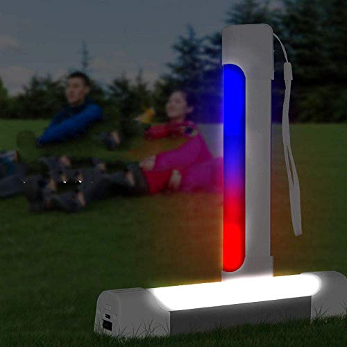 WCY Camping Lichter Camping Leuchten und Laternen Wiederaufladbare Licht Outdoor-Camping-Licht führt Notbeleuchtung Outdoor-Camping-Zelt-Licht-Multi-Function mit Power Bank Funktion yqaae