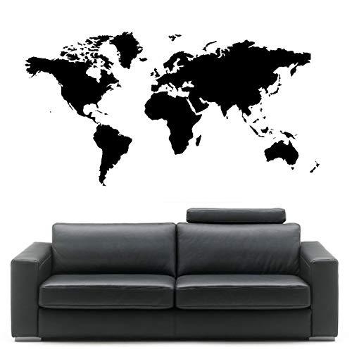 vinilo mapa mundi pared fabricante mgdznb