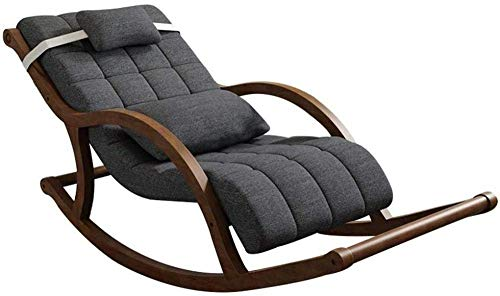 ZDW Mecedora, silla para juegos de bronceado Silla silla reclinable Chaise con almohadones en el...