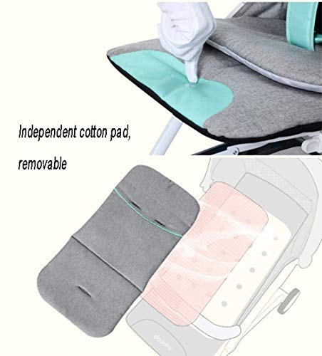 LAMTON Baby Stroller for Newborn, Stroller, Lightweight Pushchair Compact Buggy Foldable Suitable for Airplane,49x71x104cm (Color : Gray) LAMTON Adjustable handlebars for people of all heights can adjust the most comfortable push position Easy to fold, can be picked up in the trunk of the car, his parents urge him to go shopping, travel, walk, play and talk, or picnic outdoors - Quick folding system. It can be operated with one hand and folded with a lever to stand. The weight is 5.8KG and is light! 2