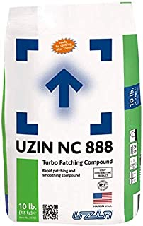 Rapid Set Concrete Leveling/Patching Compound for Floors 10 lbs Bag - Deep Floor Leveling Compound Up to 1