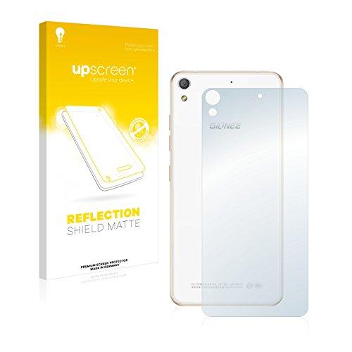 upscreen Entspiegelungs-Schutzfolie kompatibel mit Gionee Elife S5.1 Pro (Rückseite) – Anti-Reflex Bildschirmschutz-Folie Matt