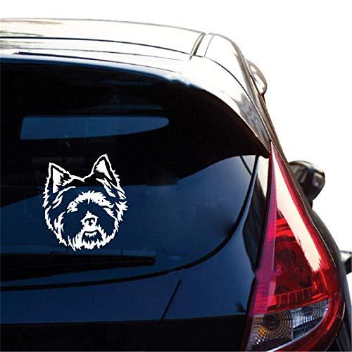 West Highland White Terrier Westie - Pegatinas autoadhesivas para coche, para perros, amantes de los animales