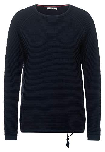 Cecil Damen 301439 Pullover, deep Blue, XL