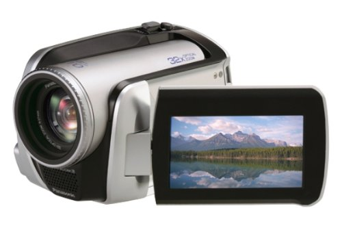 Panasonic SDR-H20 EG-S Camcorder (HDD/SD Hybrid, 30GB, 32-fach opt. Zoom, 6,9 cm (2,7 Zoll) Bildschirm, Bildstabilisator)