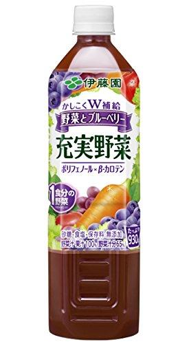 伊藤園 充実野菜 ブルーベリーミックス PET 930g*1本入)