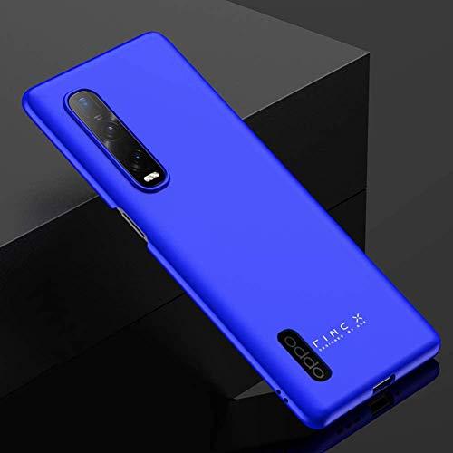 BaiFu Funda para OPPO Find X2 Pro, Carcasas y Fundas Protector Fina y Slim Case para teléfono Carcasa para OPPO Find X2 Pro-Azul
