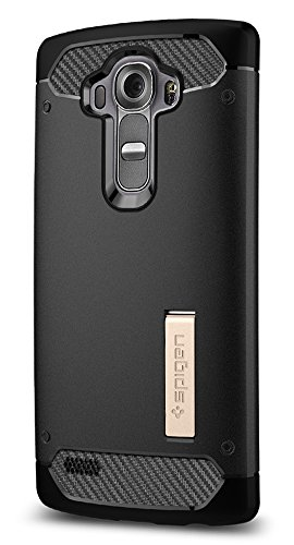 Spigen Rugged Armor Case LG G4 Case with Flexible and Durable Shock...