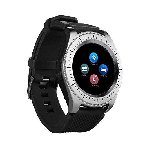 hwbq Reloj inteligente compatible con Bluetooth 3.0 para tarjeta SIM y Tf marcación de llamada monitor de sueño, monitor