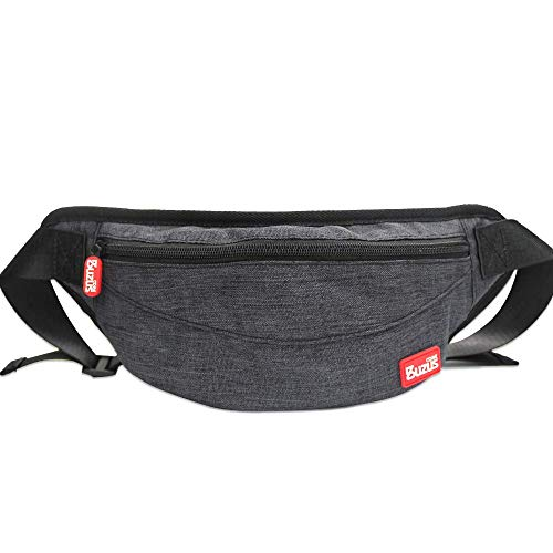 Casual Waist Pack for Nintendo Switch and Nintendo Switch Lite, CORE BUZUS TS-6101 Protective Light Carrying Case for Cell Phone Electronics and Accessories, Black