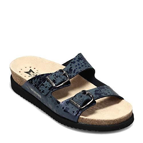 Mephisto Women's Harmony Cork Sandals Navy 9 M US