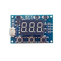 2 Channel PWM Generator Pulse Frequency Duty Cycle Adjustable Square Wave Rectangle Signal Generator For Stepper Motor Driver