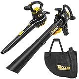 Best Leaf Vacuums - TECCPO 3-in-1 Leaf Blower/Vacuum/Mulcher, 12 Amp Professional Leaf Review