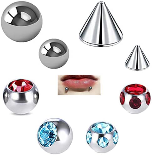 ReinventMe Non Pierced Fake Nose Rings Lip Suds by Stick on 4 5mm Stainless Steel Nose Ear Lip product image