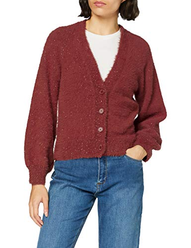 Mexx Womens Elegant Cardigan Sweater, Apple Butter, XXL