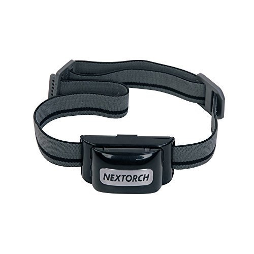 Nextorch Light Star 200 Lumen Cree R5 LED 'Flickr Switch' Headlamp with Zipper Case and 3 x AAA Batteries by A.C. Kerman - Outdoor