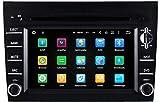 Sunshine Fly 6.2 Zoll Android 8.0 Auto Radio DVD Player für 911 997 BOXTER Cayman mit GPS Navigation BT USB SD FM AM Stereo WiFi