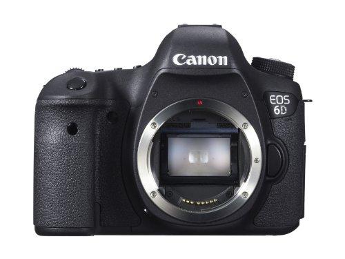 Canon EOS 6D - Cámara reflex digital DSLR (Full Frame CMOS, 20.2 Mp, LCD 3