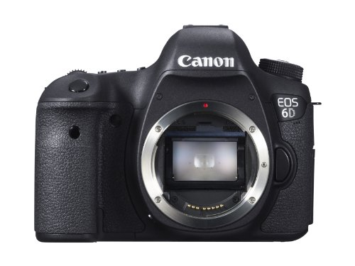 Canon EOS 6D 20.2 MP CMOS Digital SLR Camera with...