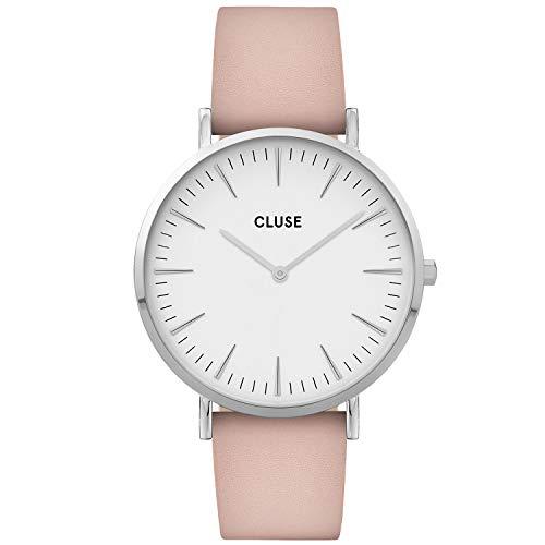 CLUSE Reloj Analógico para Mujer de Cuarzo con Correa en Cuero CW0101201019