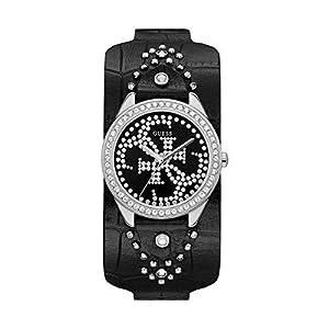 GUESS Reloj Analógico para Mujer de Cuarzo con Correa en Cuero 8431242947655