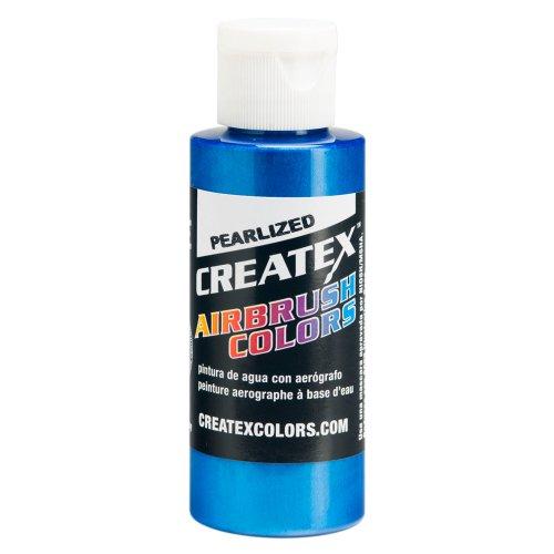 Createx Farbe 120ml Perlglanz-Lack–Blau