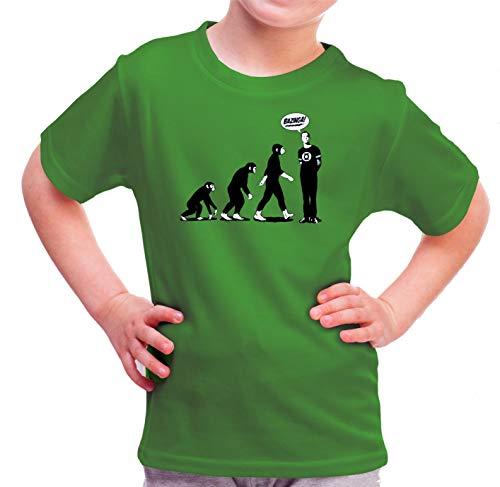 Camiseta de NIÑOS The Big Bang Theory Sheldon Cooper Penny Bazinga 11-12 Años