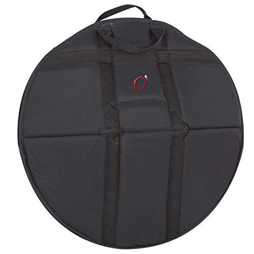 Ortola 6449-001 - Funda hang drum acolchado 20 mm mochila, color negro